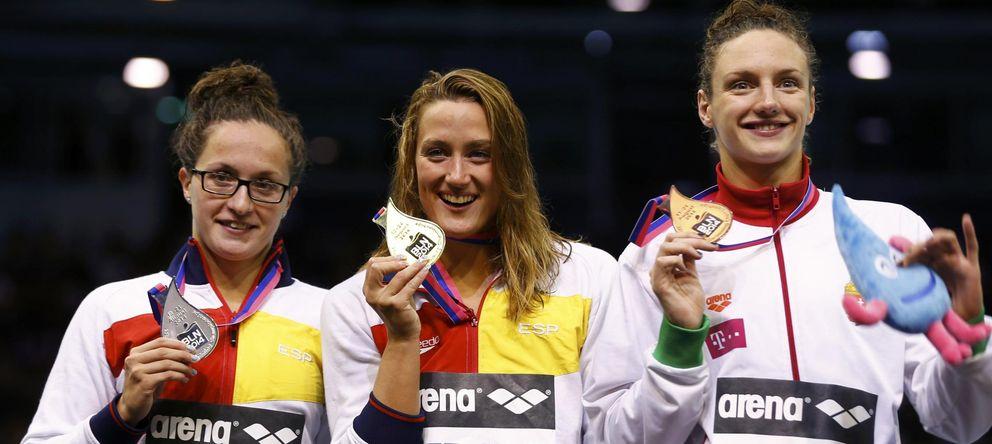 Oro y bronce de Mireia y plata de Judit Ignacio para rematar el Europeo español