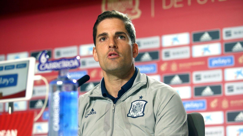 Robert Moreno se despidió de la Selección española con un comunicado. (EFE)