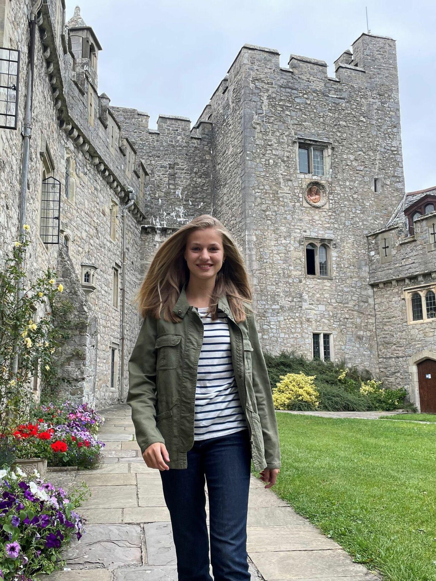Leonor, en el UWC Atlantic College de Gales. (Casa de S. M. el Rey)