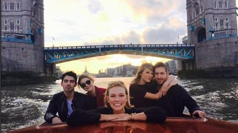 Taylor Swift y Calvin Harris, escapada a Londres con amigos
