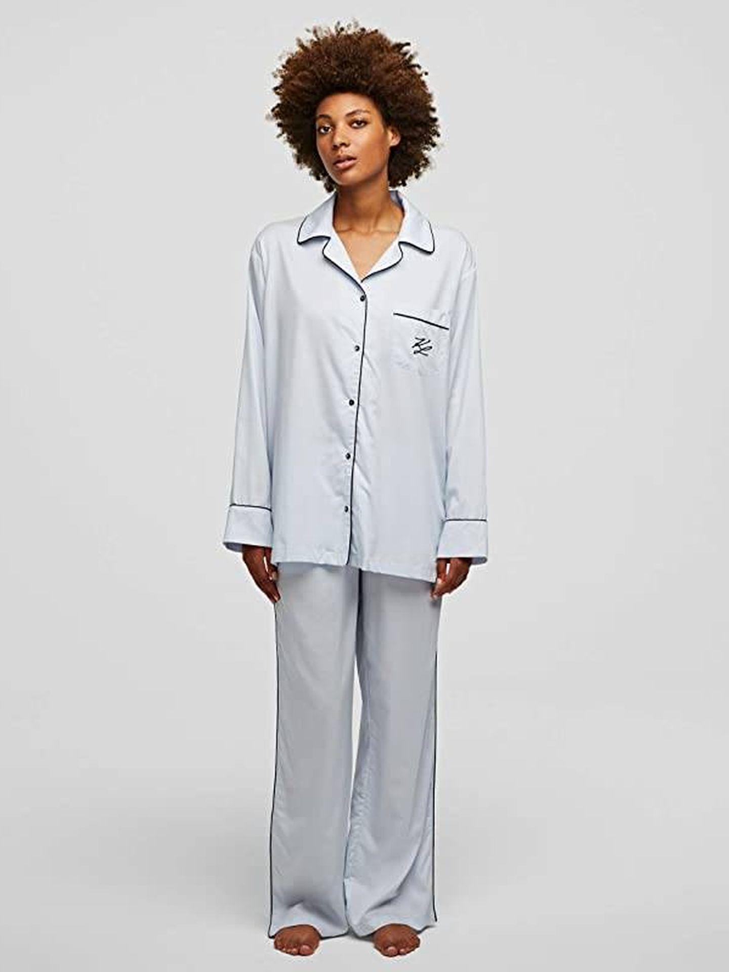 Pijama de Karl Lagerfeld. (Cortesía)