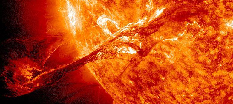 Foto: Los sistemas de telecomunicaciones, amenazados por una tormenta solar