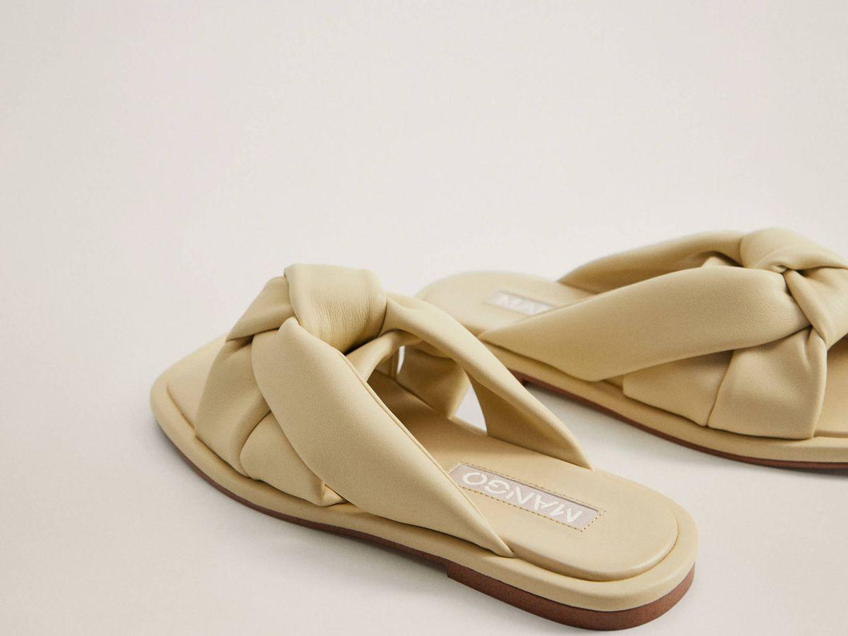 Foto: Las sandalias de Mango. (Cortesía)