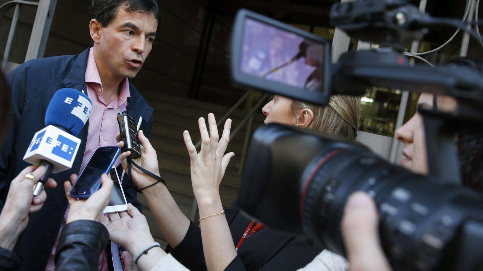 """Foto: El """"número dos"""" de UPyD, Andrés Herzog (EFE)"""