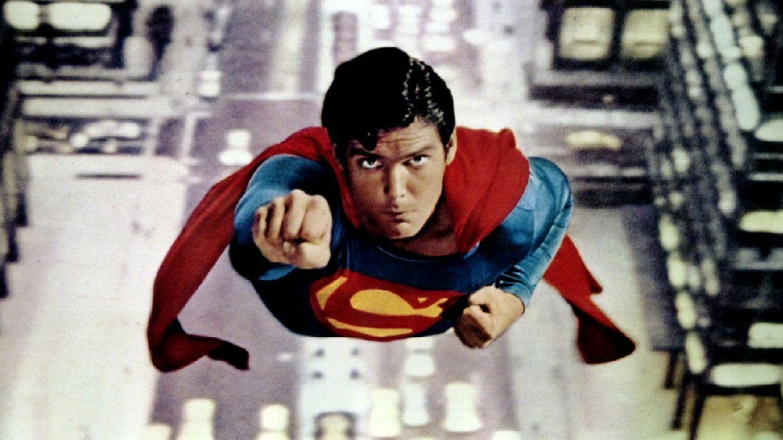 Imagen de la película Superman, de 1978.