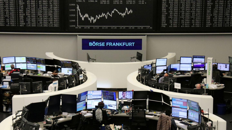 La Bolsa de Fráncfort. (Reuters)