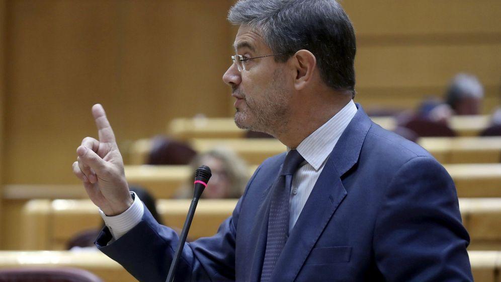 Foto: Imagen de archivo del ministro de Justicia, Rafael Catalá. (EFE)