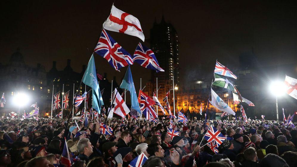 Foto: Fiesta en Londres por el Brexit. (Reuters)