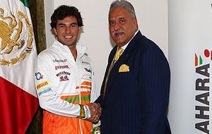Sergio Pérez ficha por Force India y medirá su talento ante Hulkenberg
