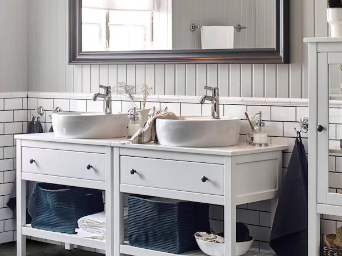 Foto: Novedades deco de Ikea para un baño ordenado y estiloso. (Cortesía)