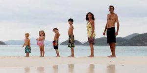 Foto: La vida nómada: una familia argentina lleva 11 años recorriendo el mundo
