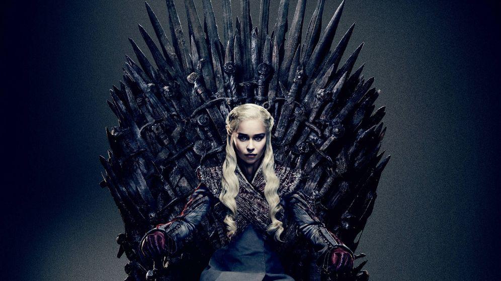 Foto: Daenerys, en el Trono de Hierro. (HBO)