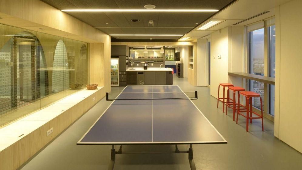 Foto: Oficinas de Google en Madrid.