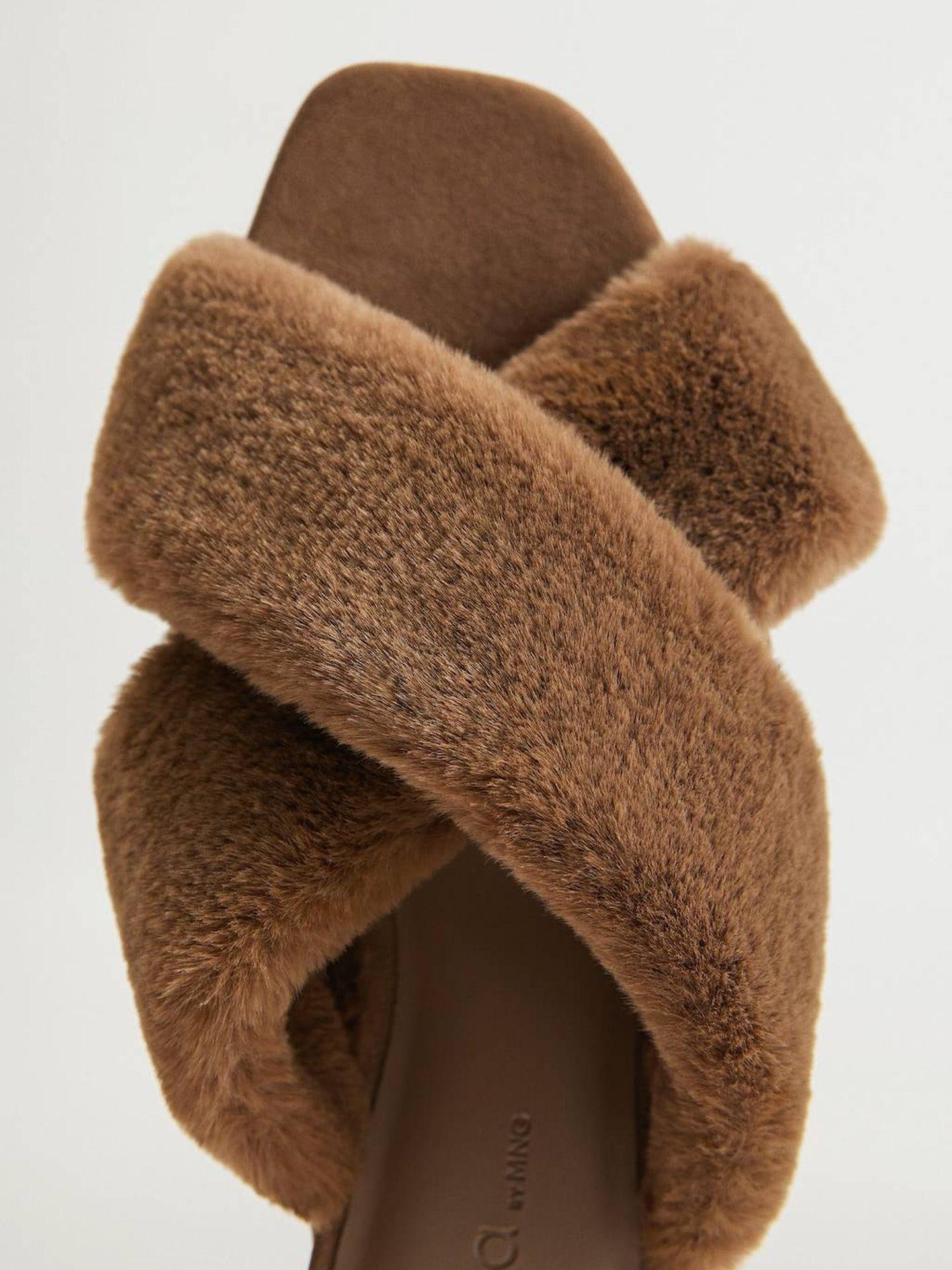 Las sandalias de Violeta by Mango. (Cortesía)