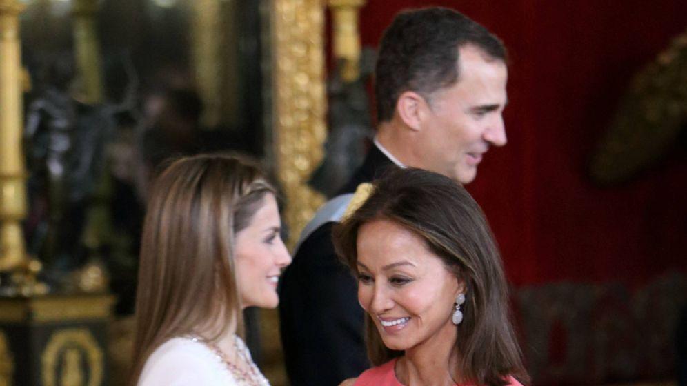 Foto: La reina Letizia y Preysler en una foto de archivo. (Getty)