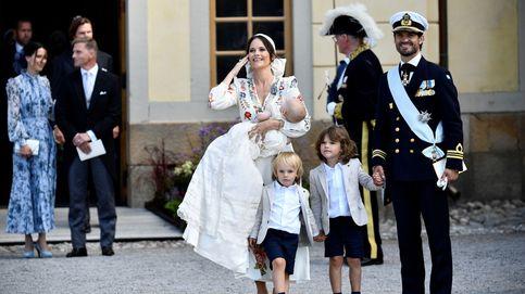 La moda española se cuela (por partida triple) en el bautizo de Julian de Suecia