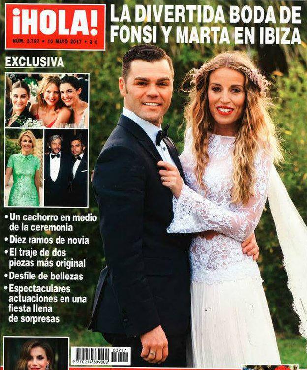 Resultado de imagen de boda fonsi nieto