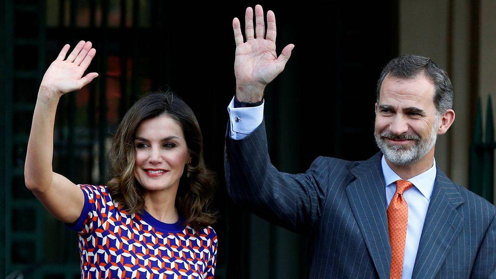 Foto: Don Felipe y doña Letizia en una imagen de archivo. (Reuters)