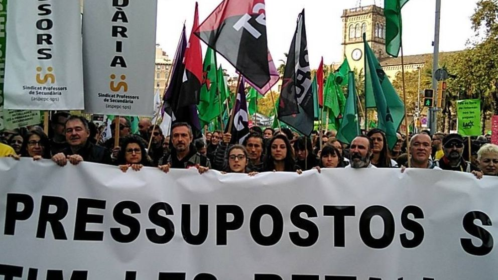 Gran marcha contra los recortes:  ERC y PDeCAT, la paciencia se acabó