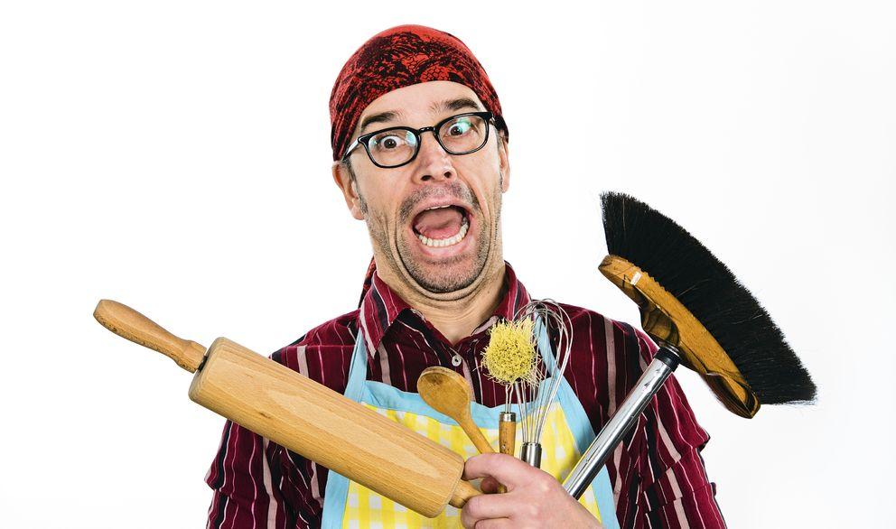 Foto: Sí, en 10 minutos puedes hacer que tu casa parezca limpia. (iStock)