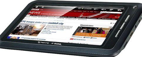 Foto: Un tablet de siete pulgadas por 54 euros: así se las gastan en India