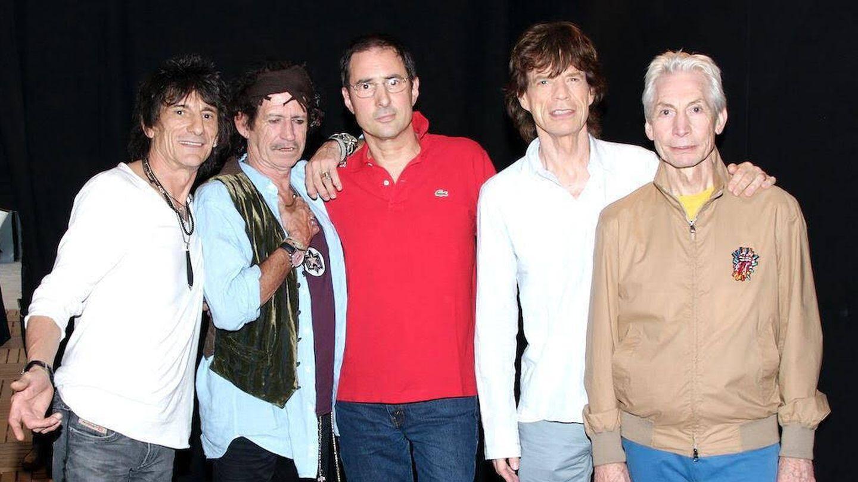 Los Rolling Stones y Gay Mercader.