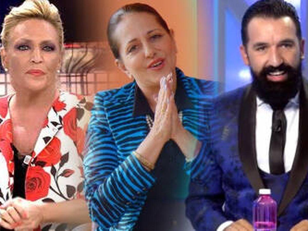 Foto: Lydia Lozano, Yolanda Ramos y Miguel Lago. (EL CONFI TV)