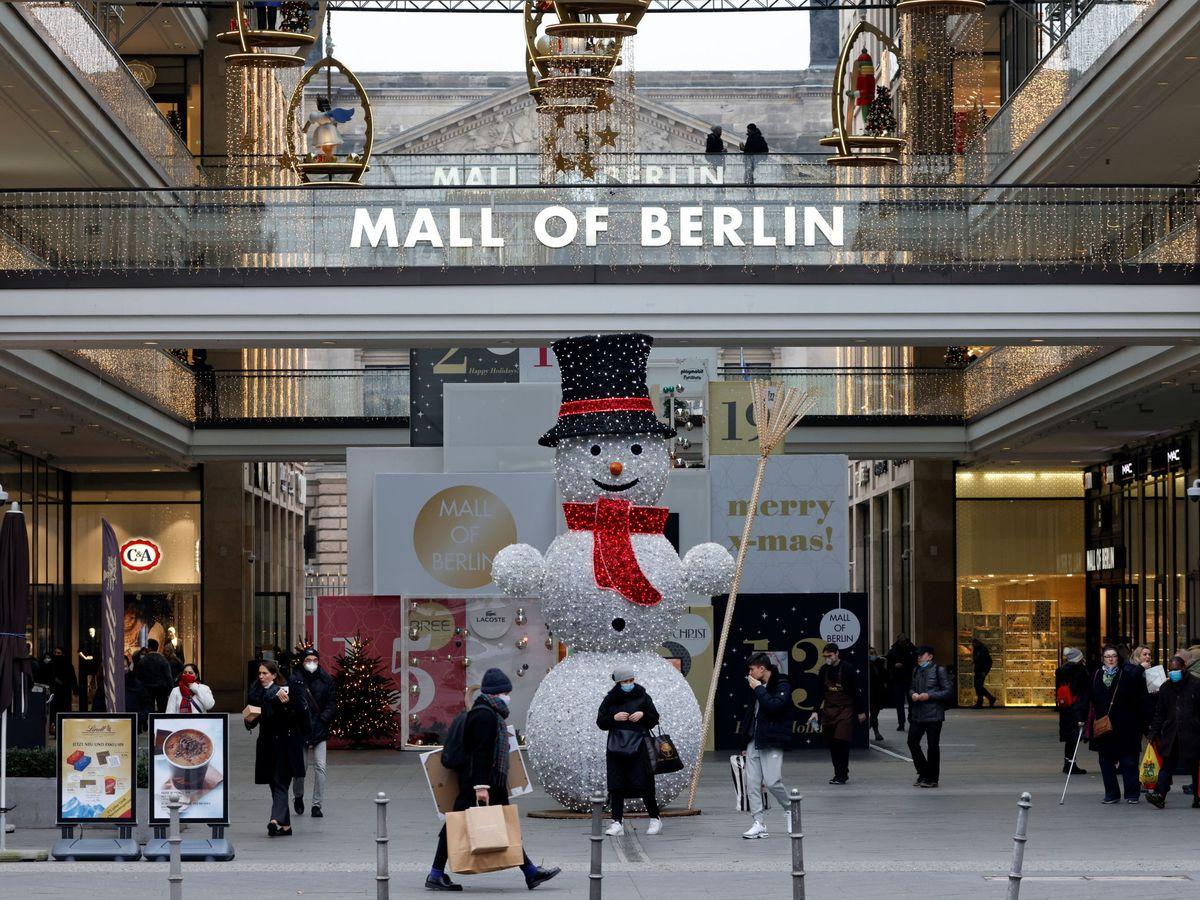 Foto: Centro comercial en Berlín. (Reuters)