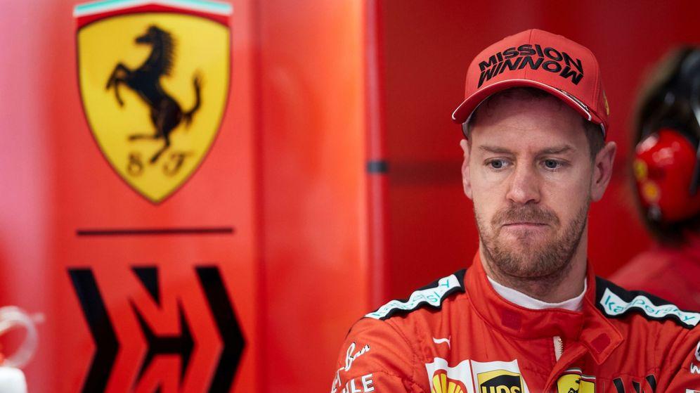 Foto: Sebastian Vettel podría estar ante su última temporada en Ferrari. (EFE)
