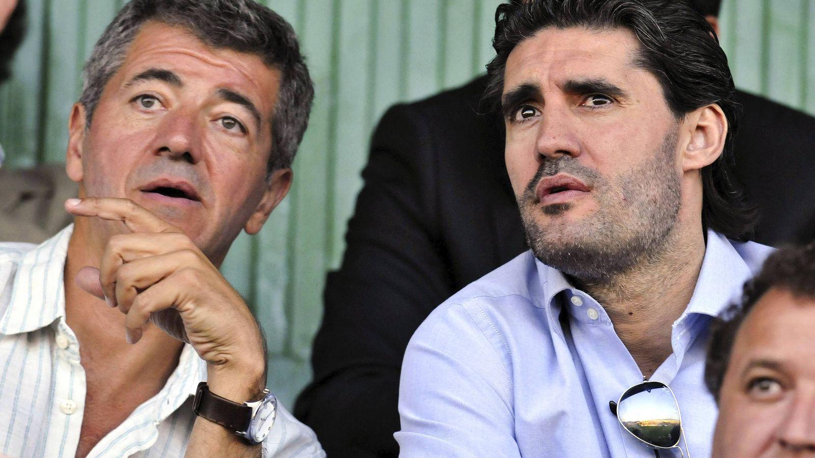 Foto: Miguel Ángel Gil Marín, junto a José Luis Pérez Caminero, en una imagen de archivo. (EFE)