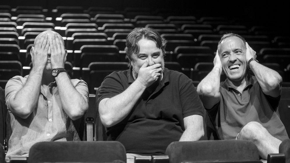 Foto: Alfredo Sanzol, Andrés Lima y Miguel del Arco
