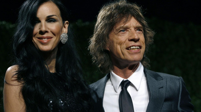 L'Wren Scott y Mick Jagger, en 2009. (Reuters)