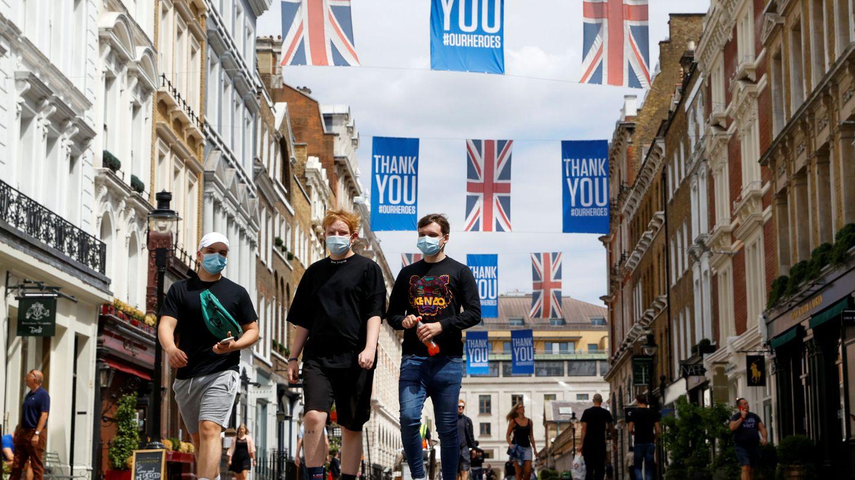 Una calle cerca de Covent Garden. (Reuters)