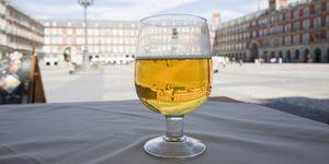 Foto: Las cañas mejor en vaso que en copa: se bebe más despacio y con más control