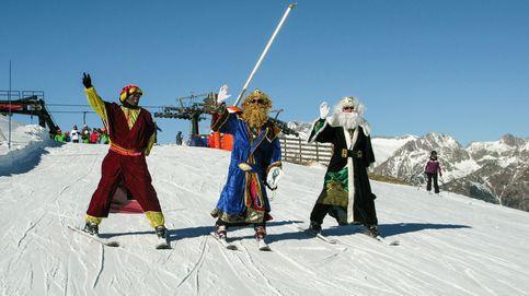 Niños (y no tan niños) reciben el 2016 esquiando y pensando en Reyes Magos