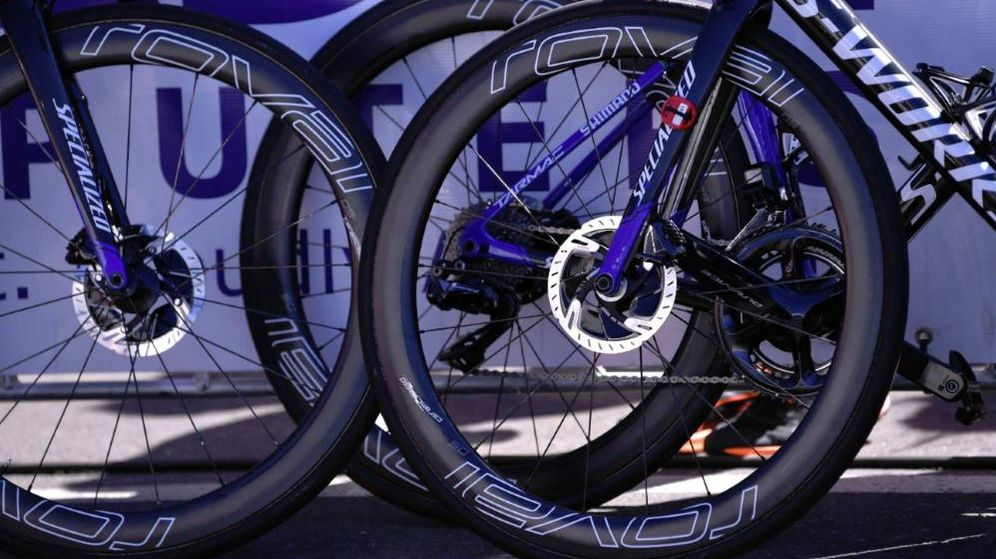 Foto: Bicicletas de alta gama del conjunto Deceuninck-Quickstep. (@deceuninck_qst)