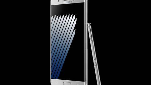 Samsung presenta el Galaxy Note 7: con pantalla curva y escáner de iris