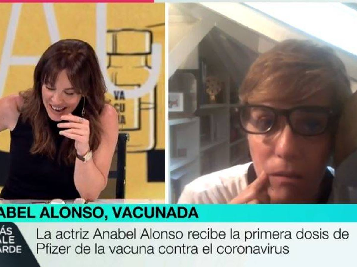 Foto: Mamen Mendizábal y Anabel Alonso, en 'Más vale tarde'. (Atresmedia)