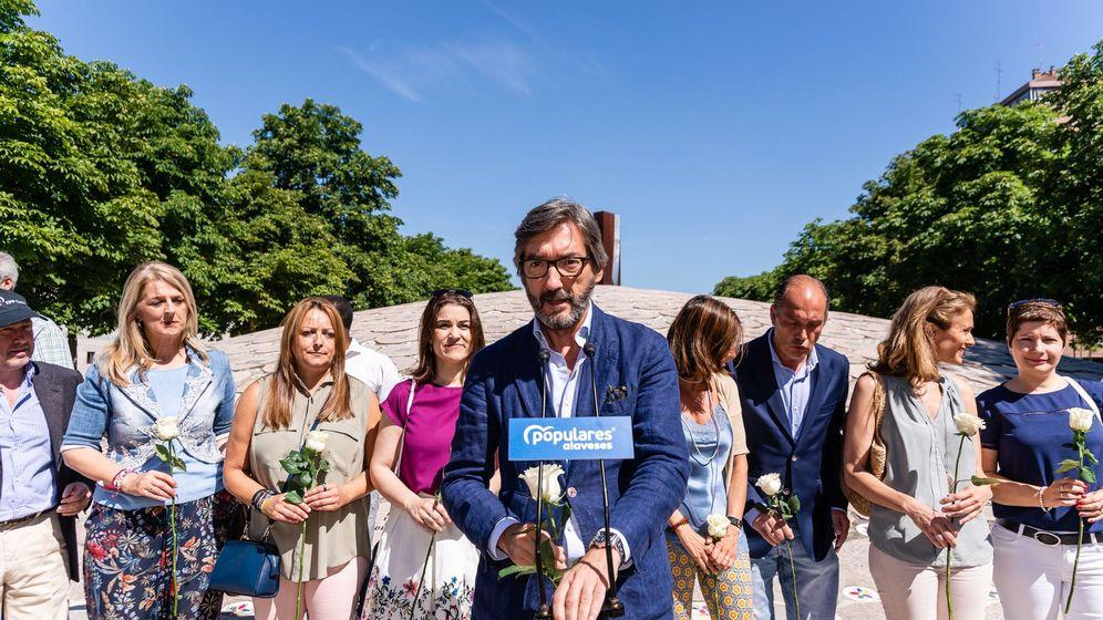 Foto: El presidente de los populares alaveses, Iñaki Oyarzábal. (EFE)