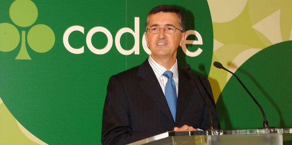 El presidente de Codere, José Antonio Martínez Sampedro.