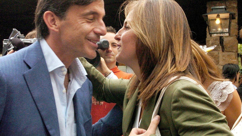 Emilio y Arantxa Sánchez Vicario, en una imagen de archivo. (EFE)