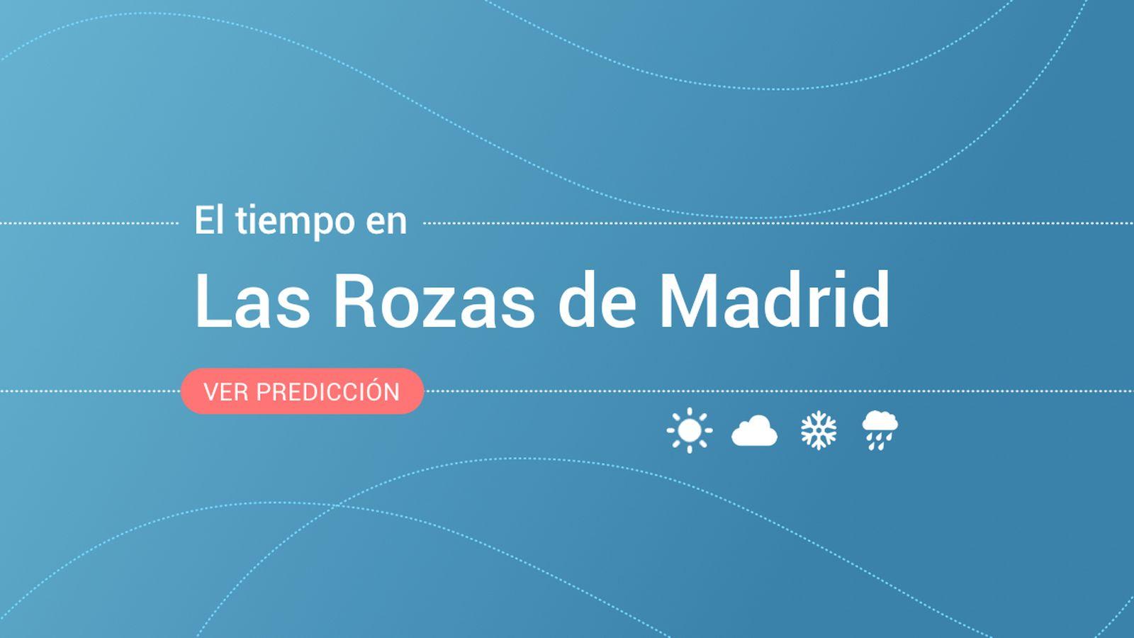 Foto: El tiempo en Las Rozas de Madrid. (EC)