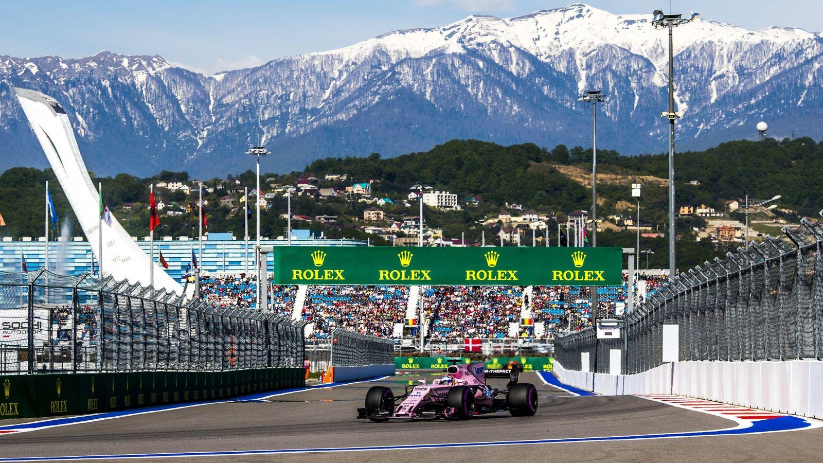 GP de Rusia de F1: horario y dónde ver en TV y online la carrera que se  celebra en Sochi