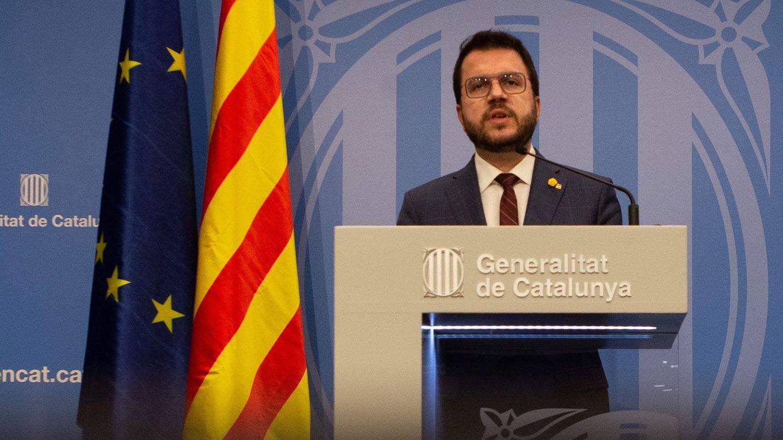 Pere Aragonès, candidato de ERC. (EFE)