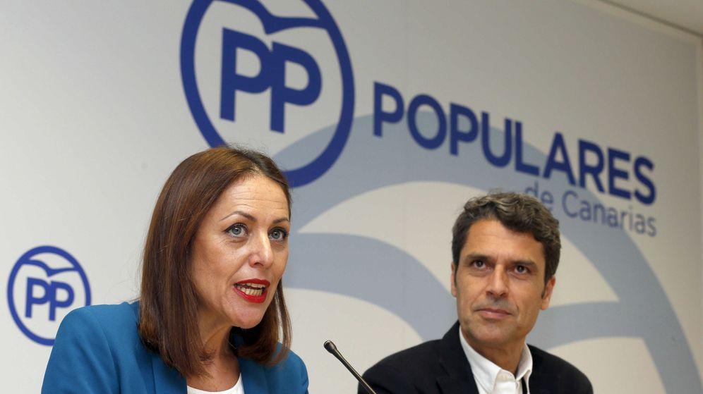 Foto: ex presidenta del Partido Popular de Tenerife (Efe)