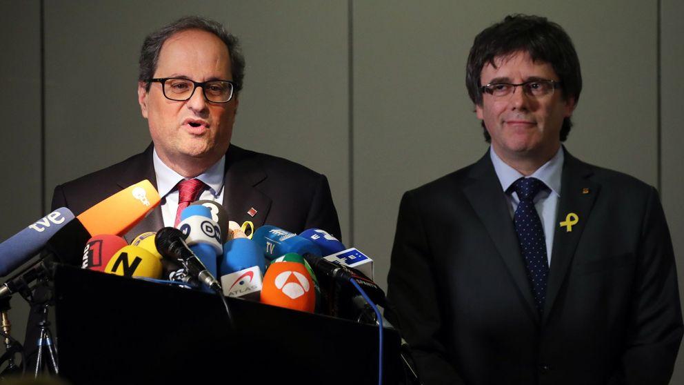 Torra y Puigdemont ven irresponsables las palabras de Borrell sobre un enfrentamiento