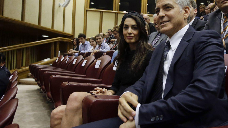 Confirmado: George Clooney y Amal esperan mellizos, un niño y una niña