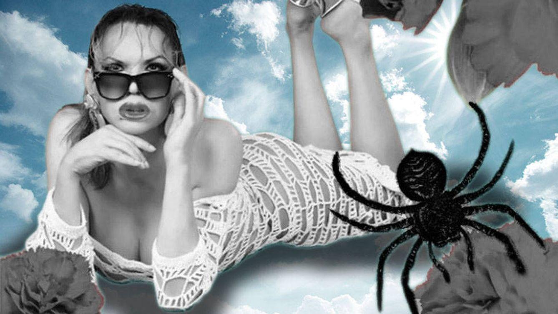 Foto: Cristina Ortiz la Veneno en un fotomontaje realizado en Vanitatis