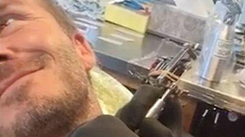David Beckham se hace un nuevo tatuaje en honor a su hija Harper