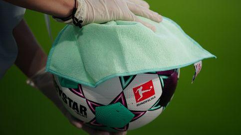 Higienizando un balón